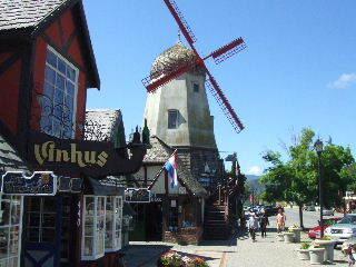 Sideways - Solvang windmill 2