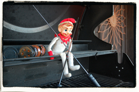 Go On and Laugh Elf Boy (elf on the redneck shelf #3)